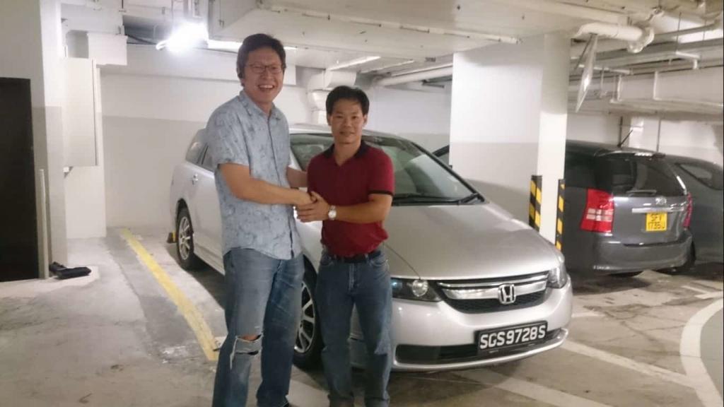 Image of COE renewal loan customer - Meng Thong