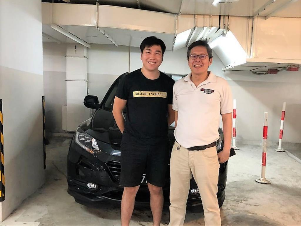 Anthony With New Vezel Bought From SG Cash N Cars