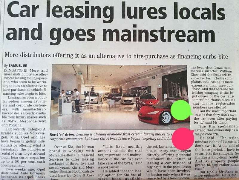 Leasing Goes Mainstream Article